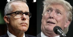 McCabe and Trump